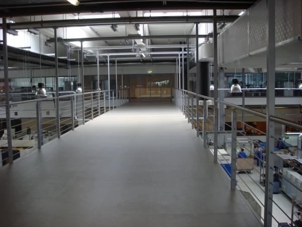 KNORR-BREMSE Ungarn gyártócsarnok építés szakipari munkái